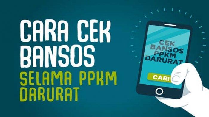 CEK Bantuan Sosial Tunai dan Bansos Beras Terbaru 2021, Klik Cekbansos Kemensos.go.id atau Aplikasi