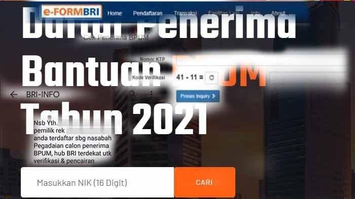 LINK Pendaftaran UMKM Cek Penerima BLT UMKM Mekar BNI Tahap 3 2021 banpresumkm.id Data Penerima UMKM