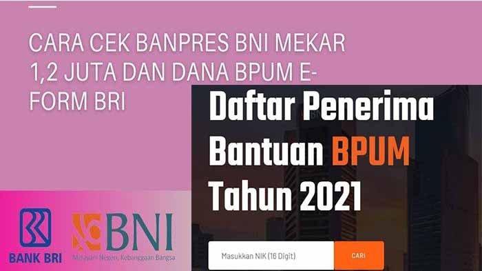 Akseseform.bri.co.id/bpum untuk Cek Penerima BLT UMKM Rp 1,2 Juta April 2021