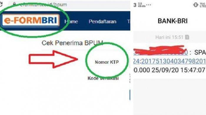 Cek e-from bri.co.id Klik eform.bri.co.id/bpum Login www.depkop.go.id Daftar UMKM Tahap 3