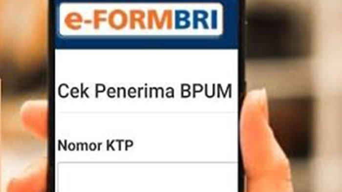 Cek Efrom BRI Co Id BPUM 2021 Login www.depkop.go.id Daftar BPUM BRI 2021 Klik eform.bri.co.id/bpum