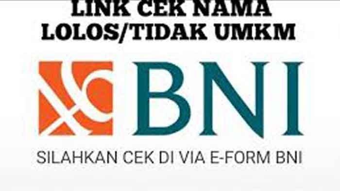 SOLUSI Saldo Rp 1,2 Juta BLT UMKM Belum Masuk Rekening Eform.bni.co.id, Cek Penerima PNM Mekar BNI