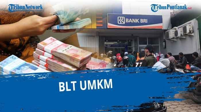 Cek Rekening BLT UMKM Rp 1,2 Juta Sudah Cair Dapat SMS BRI Penerima BPUM 2021 eform.bri.co.id/bpum