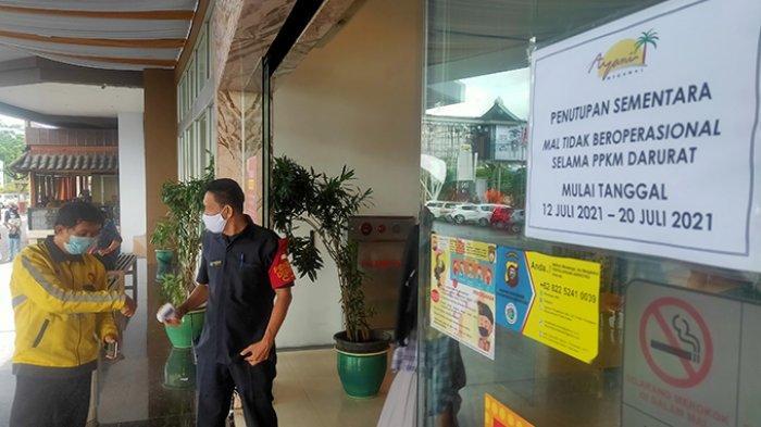 Ikuti Aturan Pemerintah, Ayani Megamall Pontianak Liburkan 80 Persen Karyawan Selama PPKM Darurat