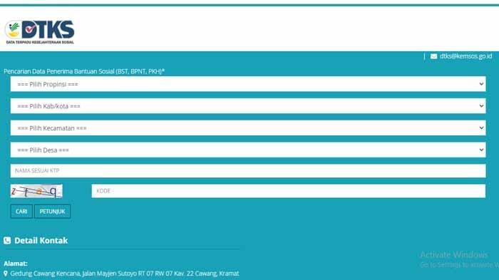 LINK Terbaru Cek Bantuan PKH, BPNT dan BST Login Https://cekbansos.kemensos.go.id Cair Bulan Ini