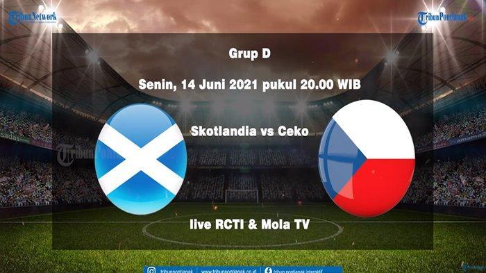LIVE SKOR Skotlandia vs Republik Ceko Euro 2020 Sekarang Update Skor Sementara Grup D