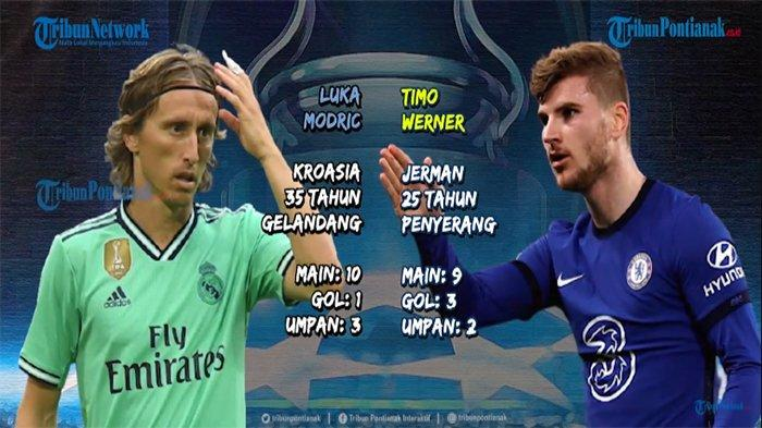Hasil Akhir Liga Champions Real Madrid Vs Chelsea, Skore Madrid Vs Chelsea UCL Tadi Malam Rabu 28