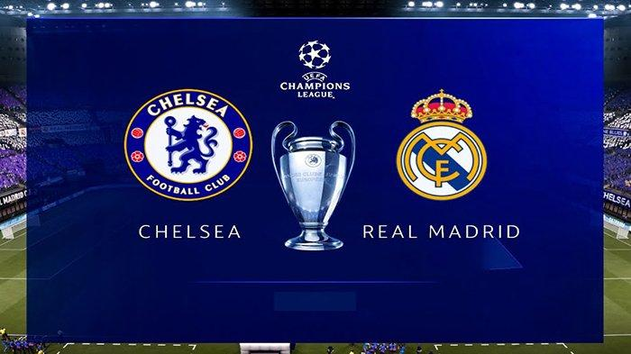 Hasil Liga Champion Chelsea Vs Madrid Live SCTV Sports Kamis 6 Mei 2021, Real Madrid Dihantui Cedera
