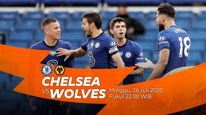 Live Hasil Liga Inggris Chelsea Vs Wolves Minggu 26 Juli 2020, Leicester Vs Manchester United