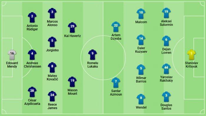 Lukaku Main! Susunan Pemain Chelsea vs Zenit Live UCL Champions TV 1 Mulai Pukul 02.00 WIB