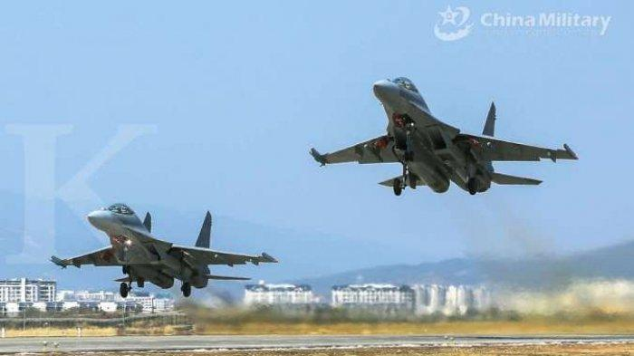 CHINA Ancam Amerika Serikat ! Tiongkok Kirim Kapal Induk ke Filipina, Pesawat Bom Nuklir ke Taiwan