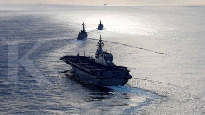 CHINA Jadi Ancaman, Jepang Galang Koalisi dengan Amerika Serikat dan Prancis Gelar Latihan Perang