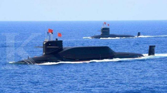 CHINA Tugaskan Kapal Selam Nuklir Dekat Laut China Selatan, Juga Kapal Perang Berpeluru Kendali