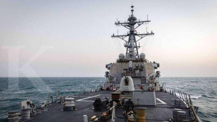 CHINA Vs Amerika di Laut China Selatan Terkini, Kapal Perang AS Masuki Wilayah yang Diklaim Tiongkok
