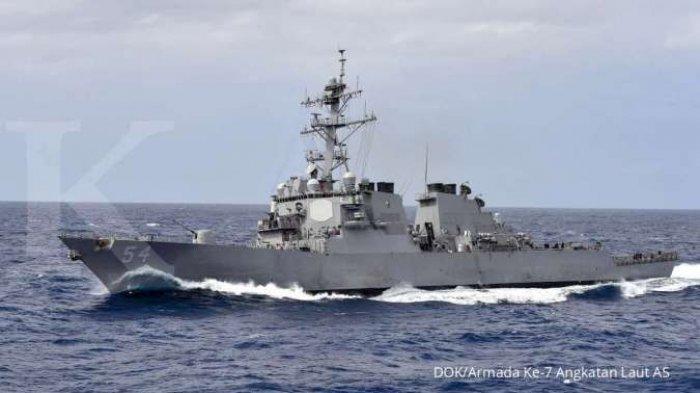 CHINA Vs Amerika Memanas | AS Patroli di Selat Taiwan, Tiongkok Kirim Kapal Perang & Pesawat Tempur