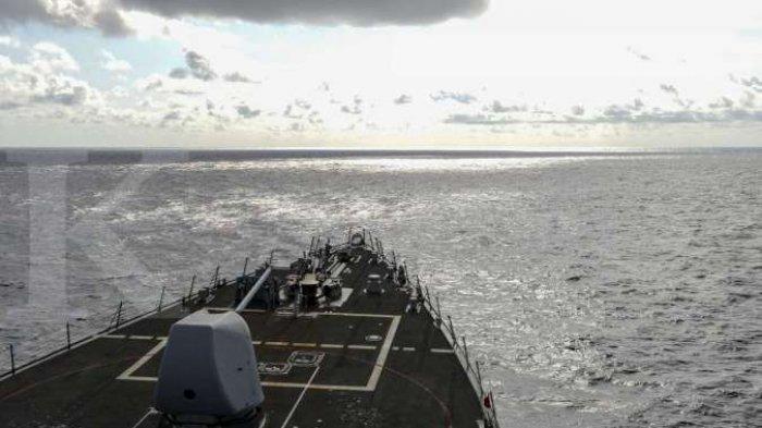 CHINA Vs Amerika Serikat di Ketegangan Laut China Selatan, Tiongkok Diminta Tak Gunakan Senjata