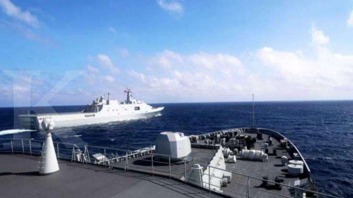 CHINA Vs Amerika, Tiongkok Gelar Latihan Militer di Laut China Selatan | Tantang Kapal Induk AS