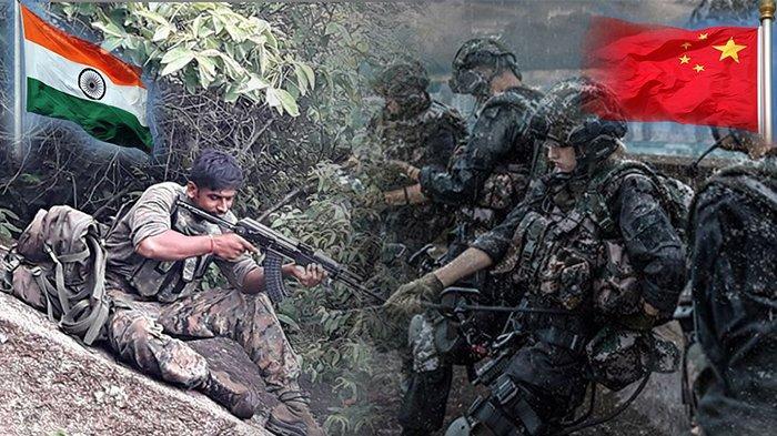 CHINA Vs India, Ratusan Pasukan Militer China dan Militer India Baku Tembak di Wilayah Perbatasan