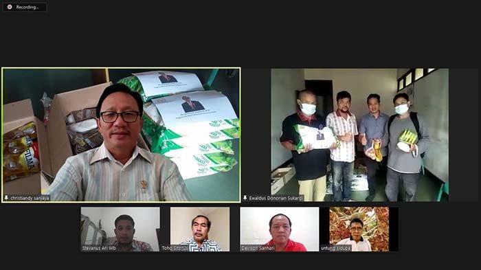 Dialog Bersama Pemuda Sintang, Christiandy Soroti Masalah Gas Elpiji Hingga Sembako