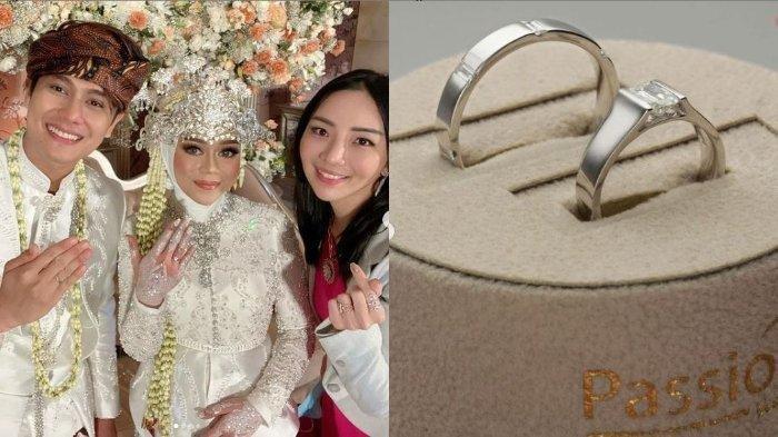 CINCIN Asoka Lesti dan Rizky Billar, Cincin Nikah Ekslusif Dihiasi Berlian Belum Dimiliki Orang Lain