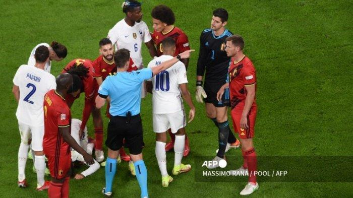 Comeback Dramatis Lawan Belgia, Perancis Vs Spanyol di Final UEFA Nations League