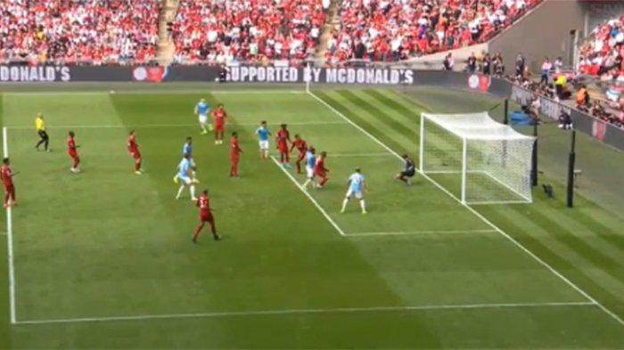 Live Fa Community Shield Liverpool Vs Manchester City Gol Cepat Sterling Skor 0 1 Cek Live Score Tribun Pontianak
