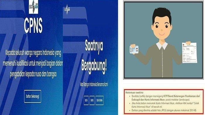 CONTOH Pas Foto CPNS 2021, Syarat Pas Foto CPNS 2021 di sscans.bkn.go.id 2021