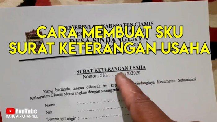 Contoh Surat Keterangan Usaha KUR BRI Lengkap Cara Membuat Surat Keterangan Usaha KUR BRI
