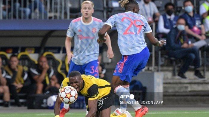 CRISTIANO Ronaldo Gol, Aaron Wan-Bissaka Kartu Merah ! Live Hasil Man Utd Vs Young Boys UCL 2022