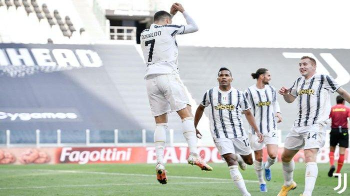 Cristiano Ronaldo menjadi manusia serba 7 saat Juventus mempermalukan sang juara, Inter Milan, dengan 10 orang.