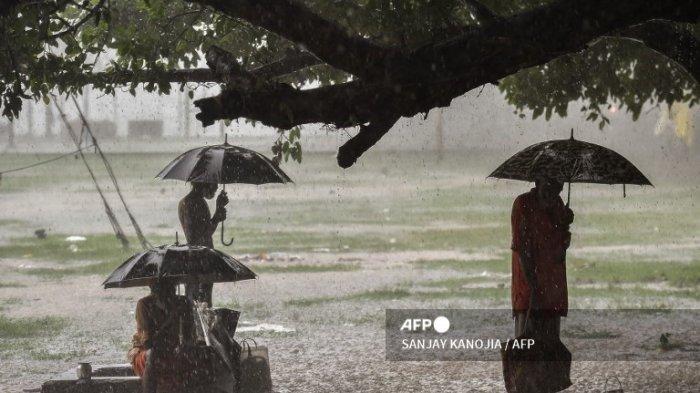 PERINGATAN DINI Cuaca Ekstrem Hari Ini Rabu 9 September & Wilayah Potensi Hujan Lebat Angin Kencang