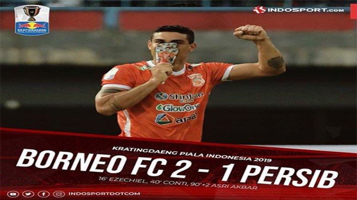 CUPLIKAN GOL Borneo FC Vs Persib, Maung Bandung Takluk di Markas Pesut Etam