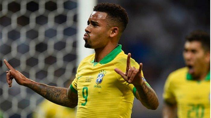 Cuplikan Gol Gabriel Jesus Laga Brazil Vs Argentina Semifinal Copa America, Tebar Ancaman Sejak Awal