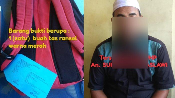 Diduga Curi Alquran di Masjid, Seorang Pria Diciduk Polsek Pontianak Timur