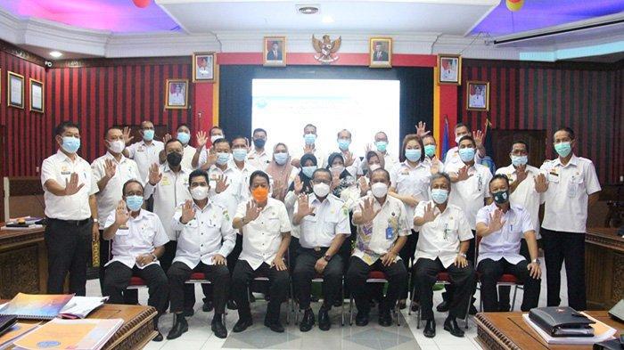 Sekda Sanggau Buka Rapat Kesekretariatan Pelaksanaan Inpres Nomor 2 Tahun 2020 Tentang RAN P4GN