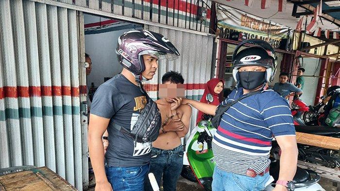 Tertangkap warga Curi Motor, Pemuda 19 Tahun di Pontianak Jadi Bulan-Bulanan Warga