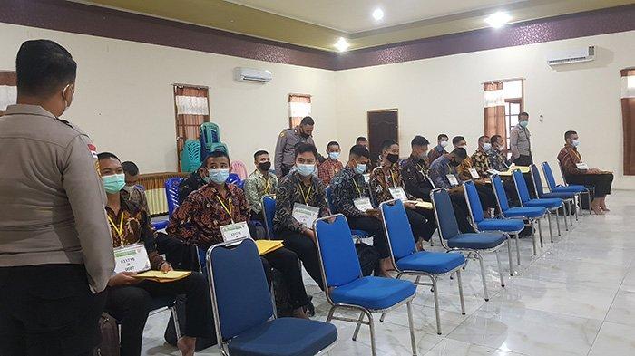 163 Calon Anggota Polisi Masuk Tahap Seleksi Administrasi di Polres Bengkayang