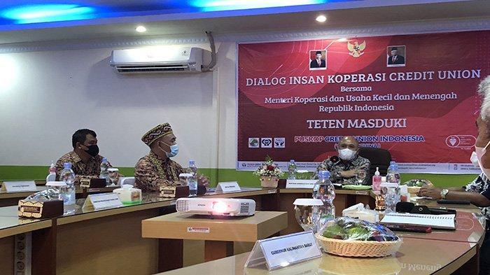 Teten Masduki Kunjungi CU, Puskopdit BKCU Kalimantan Harap Keberadaan CU Diakui oleh Pemerintah