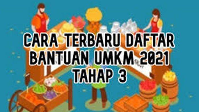 Klik E Form BRI Co Id BPUM Daftar BPUM Terbaru 2021 Login www.kemenkopukm.go.id Banpres Rp 2,4 Juta