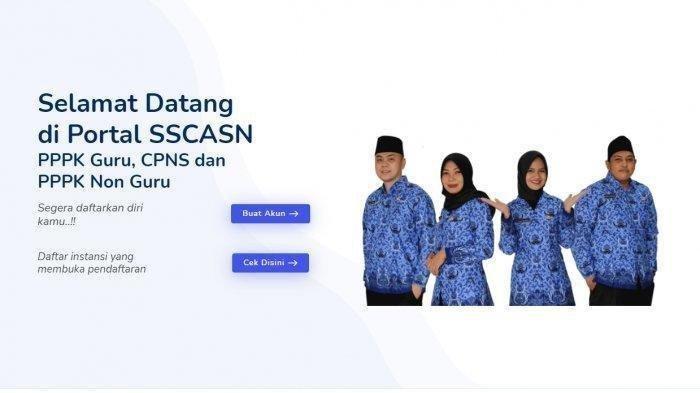 DAFTAR Akun CPNS sscndata.bkn.go.id 2021, Kapan Penutupan Pendaftaran CPNS & Cek Jadwal CPNS Terbaru