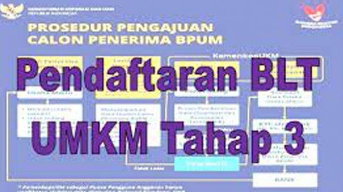 DAFTAR Banpres BPUM BRI 2021 Bulan Ini, Ikuti Cara Daftar dan Cek Online Link eform.bri.co.id/bpum