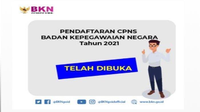 DAFTAR CPNS Bengkayang sscasn.bkn.go.id Login, Ini Tata Cara Pendaftaran CPNS Bengkayang 2021