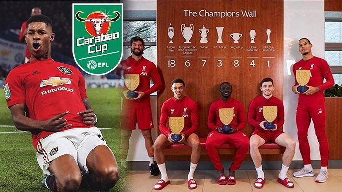 DAFTAR Juara Piala Liga Inggris, EFL Carabao Cup Masa ke Masa | LiverpoolKalahkan Manchester United