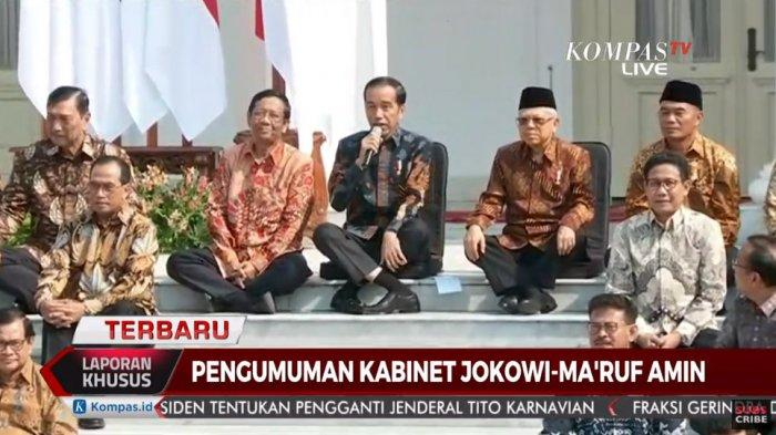 Jokowi Bantah Reshuffle tapi Warning Menteri Berkinerja Lamban, Pasti Saya Ganti