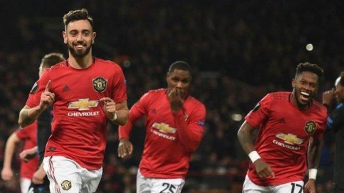UPDATE Hasil Manchester City vs Manchester United - Baru 2 Menit, Bruno Fernandes Ubah Skor 0-1