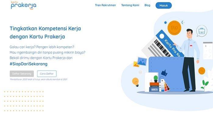 DAFTAR Kartu Prakerja Gelombang 12 Berbeda, Klik www.prakerja.go.id Buat Akun & Ikuti Cara Daftarnya