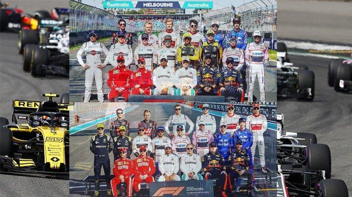Daftar Pebalap F1 (Formula 1) 2019: Lewis Hamilton Tetap di Mercedes, Kimi Raikkonen ke Sauber