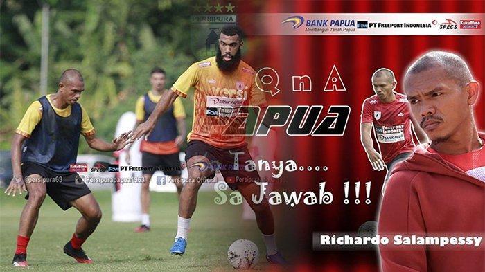DAFTAR Pemain Persipura Jayapura Shopee Liga 1 2020, Ada Sang Legenda Ricardo Salampessy Hingga Boaz