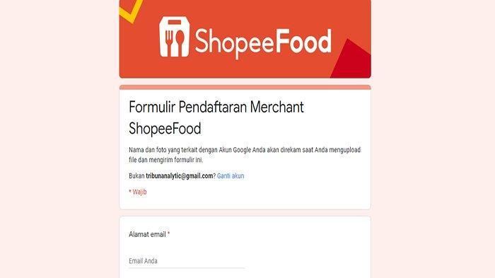 Link Daftar Shopee Food Merchant dan Link Daftar Shopee Food Driver