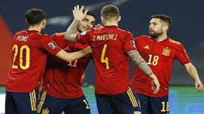 Daftar Skuad Spanyol EURO 2021 Lengkap Pemain Spanyol EURO Live 2021